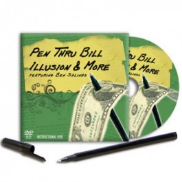 *Pen Thru Bill Illusion & More