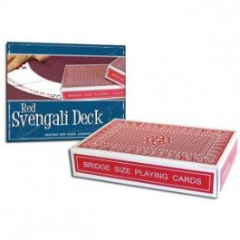 *Pro Brand Bridge Svengali Deck (Red) - Packaged