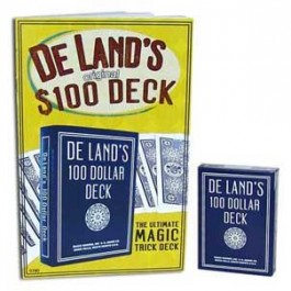 De Land's Marked Deck with Instruction Booklet
