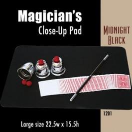 "*Large Size Close-up Pad (Midnight Black) 22.5"" x 15.5"""
