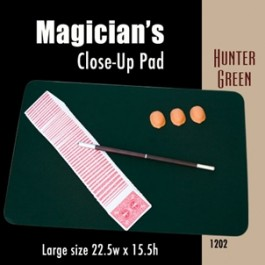 "*Large Size Close-up Pad (Hunter Green) 22.5"" x 15.5"""