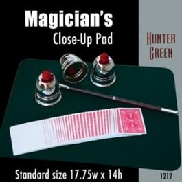 "*Standard Size Close-up Pad (Hunter Green) 17.75"" x 14"""
