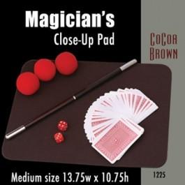 "Medium Size Close-up Pad (Cocoa Brown) 13.75"" x 10.75"""