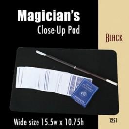 "Black Wide Close-up Pads (15.5"" x 10.75"")"