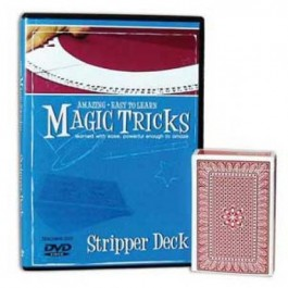 *Amazing Easy To Learn Magic Tricks- Stripper Deck Combo
