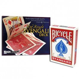 Svengali Deck in Bicycle Red Back (JD Card Force)