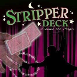 Magic Stripper Deck Poker Size