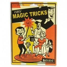 *Easy Magic Tricks Book - Over 50 Tricks