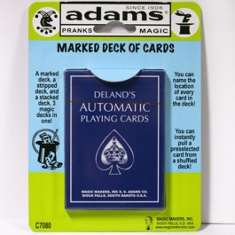 Deland's Marked Deck SS ADAMS
