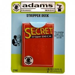 Secret Stripper Deck SS ADAMS