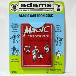Magic Cartoon Deck SS ADAMS