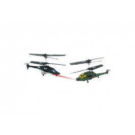 RC Fighting Helicopters - Airwolf Vs US Apache