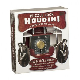 Houdini Puzzle Lock - Under Lock And Key