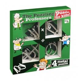 Kids Set Of 4 Metal Puzzles