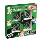 Kids Set Of 4 Metal Puzzles