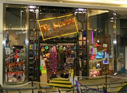 Outside It's Magic Store
