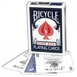 Bicycle Blue Poker Deck