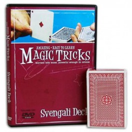 *Amazing Easy To Learn Magic Tricks- Svengali Deck Combo