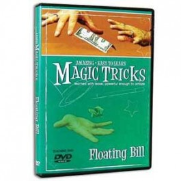 *Amazing Easy To Learn Magic Tricks- Floating Bill (with gimmicks)