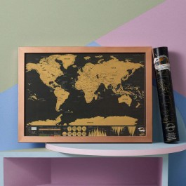 Scratch Map® Travel Deluxe