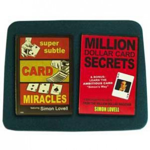 Card Miracles Combo - 2 DVDs + Medium Green Close-up Pad