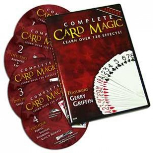 *Complete Card Magic - 4 DVD Set