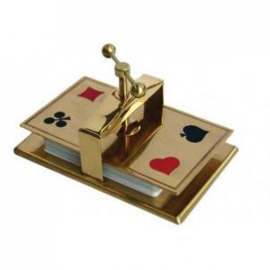 Collector's Card Press- Brass