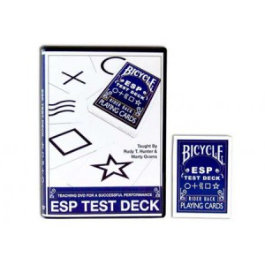 Bicycle ESP Test Deck with Teaching DVD
