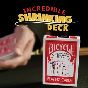 Incredible Shrinking Deck in Bicycle With DVD