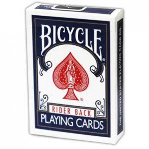 Blue Bicycle Stripper Deck Original