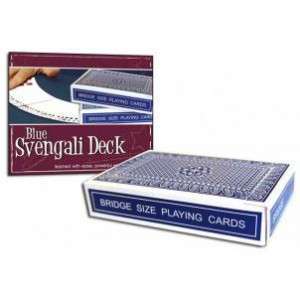 *Pro Brand Bridge Svengali Deck (Blue) - Packaged
