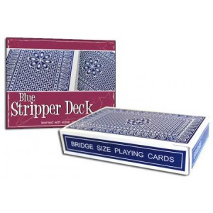 Pro Brand Bridge Stripper Deck (Blue) - Packaged