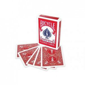 Bicycle Red Double Back Deck