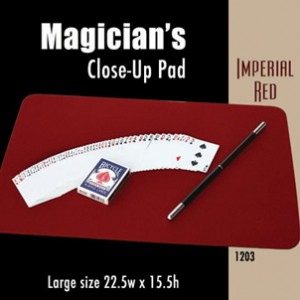 "Large Size Close-up Pad (Imperial Red) 22.5"" x 15.5"""