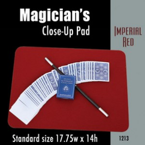 "Standard Size Close-up Pad (Imperial Red) 17.75"" x 14"""