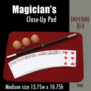 "Medium Size Close-up Pad (Imperial Red) 13.75"" x 10.75"""
