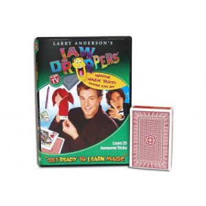"*""Get Ready To Learn Magic"" 25 Tricks Jaw Droppers DVD + bridge svengali deck"
