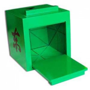 Mandarin Mirror Box - Green