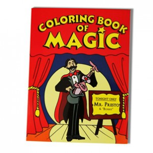 *Coloring Book of Magic Original Large Size