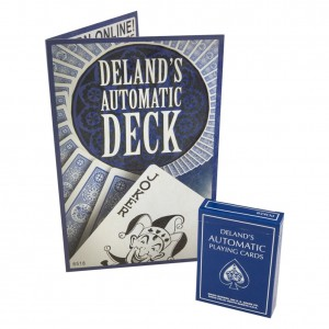The Automatic Deck Blue - DeLands Ultimate Marked Deck