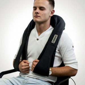 SHIATSU NECK MASSAGER WITH ARM LOOPS
