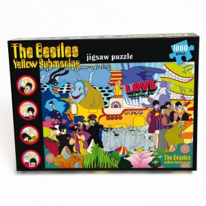 The Beatles - Yellow Submarine - 1000 piece Puzzle