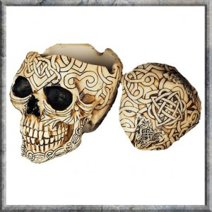 Celtic Skull Box - Small