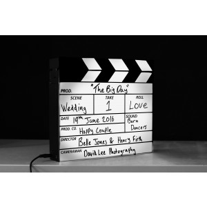 Clapperboard Light Box