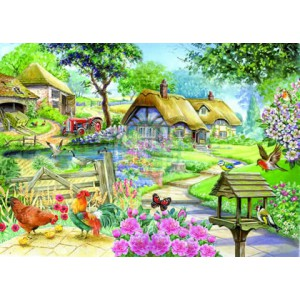 Country Living - Big 500 piece quality puzzle designed by House Of Puzzles