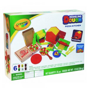 Crayola - Modeling Dough Pizza Kitchen