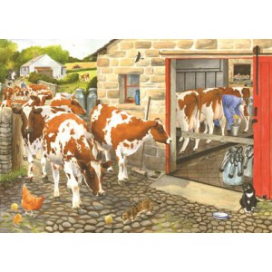 Dairy Maids - 1000 Piece Puzzle