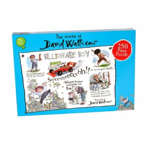 David Walliams - Billionaire Boy 250 piece puzzle