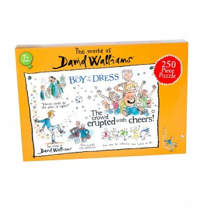 David Walliams - The Boy in a Dress 250 piece puzzle