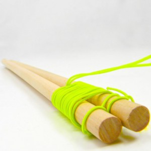 Deluxe Wooden Diabolo Hand Sticks